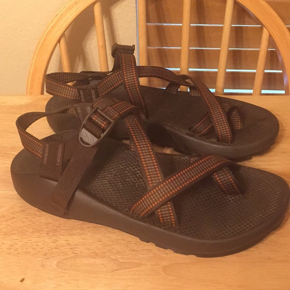 8470866b88cf Chaco Other - Chaco men s sport sandal brown and orange Sz 13